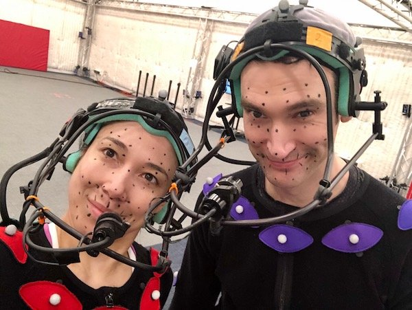 Working in motion capture