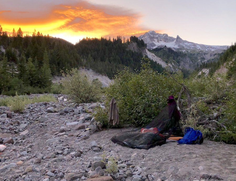 Mount Hood Timberline Trail Cowboy Camping Sandy River Sunrise