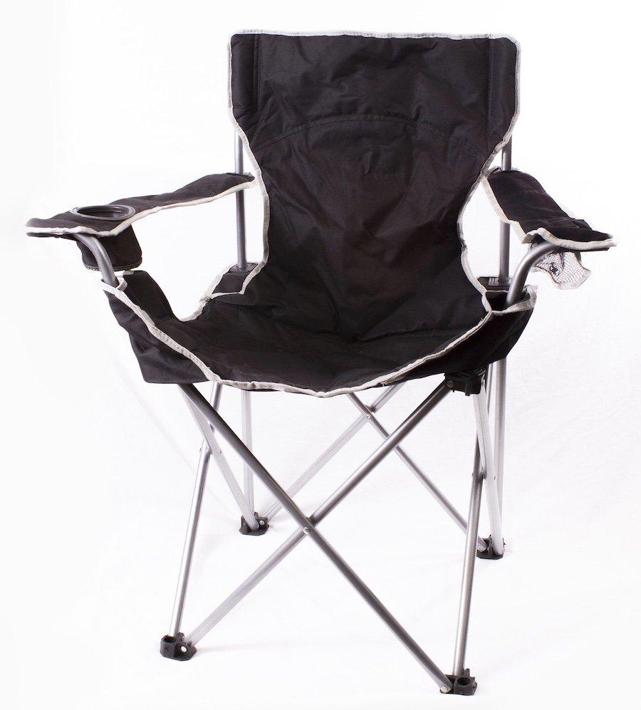 Quad-Style Folding Camp Chair