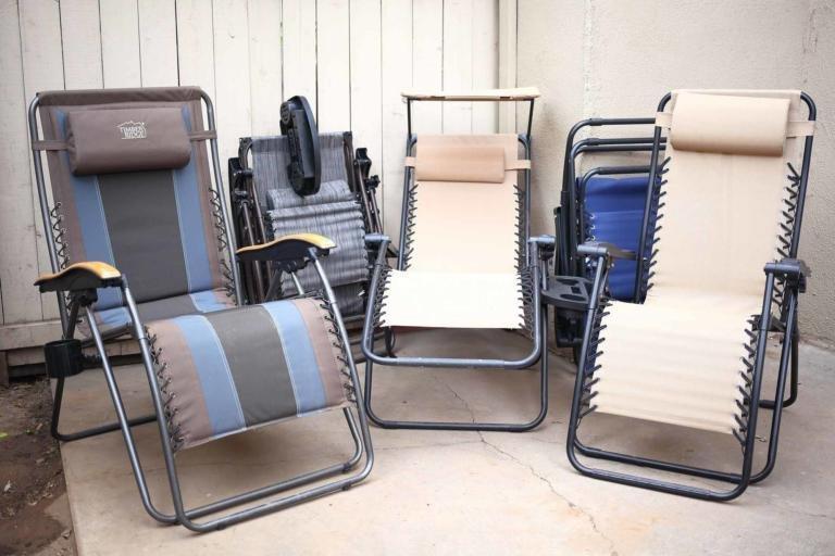 Zero Gravity Folding Camp Chairs