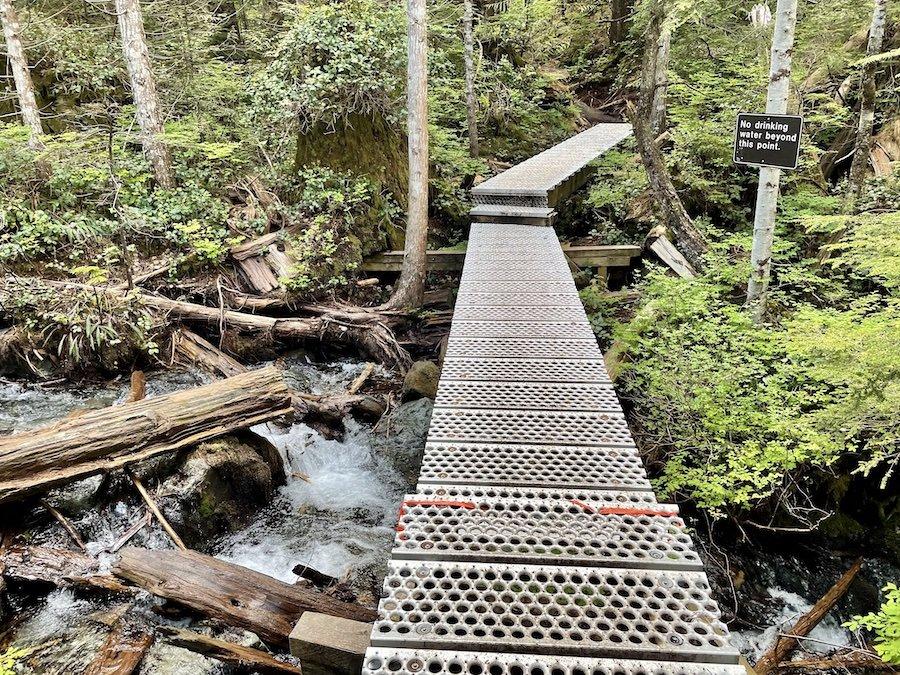 Creek Crossing on Trail to Alder Flats, Golden Ears Provincial Park