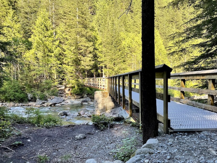 West Canyon to East Canyon Connector Bridge, Golden Ears Provincial Park