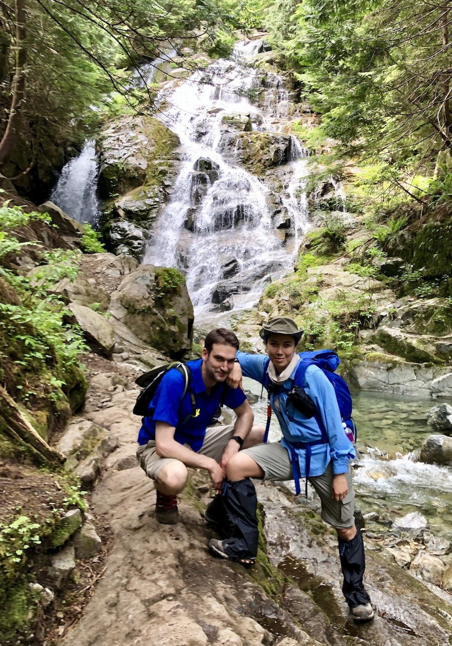 Kennedy Falls Hike in North Vancouver's Lynn Valley area