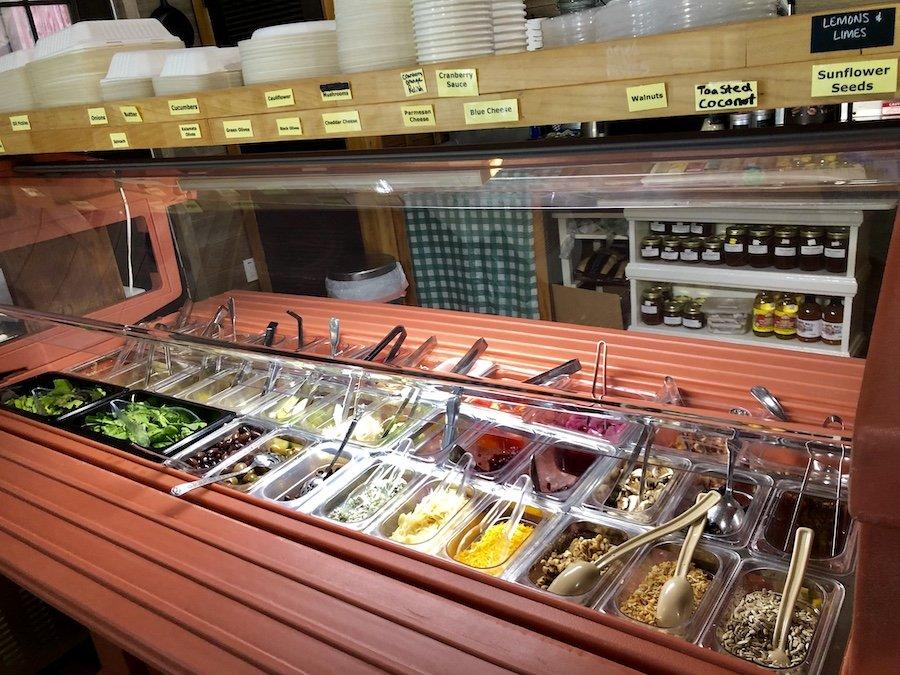 Golden Harvest Herban Farm - Port Orford, Build-Your-Own Salad Bar