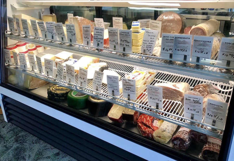 South Coast Gourmet - Port Orford, Cheese & Meat Offerings