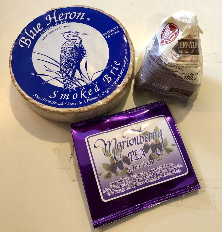 Our purchases at Blue Heron French Cheese Company