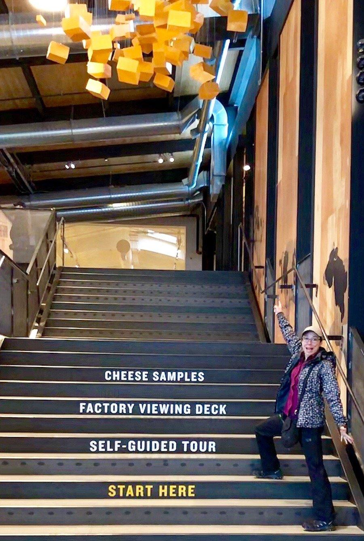 Touring the Tillamook Creamery