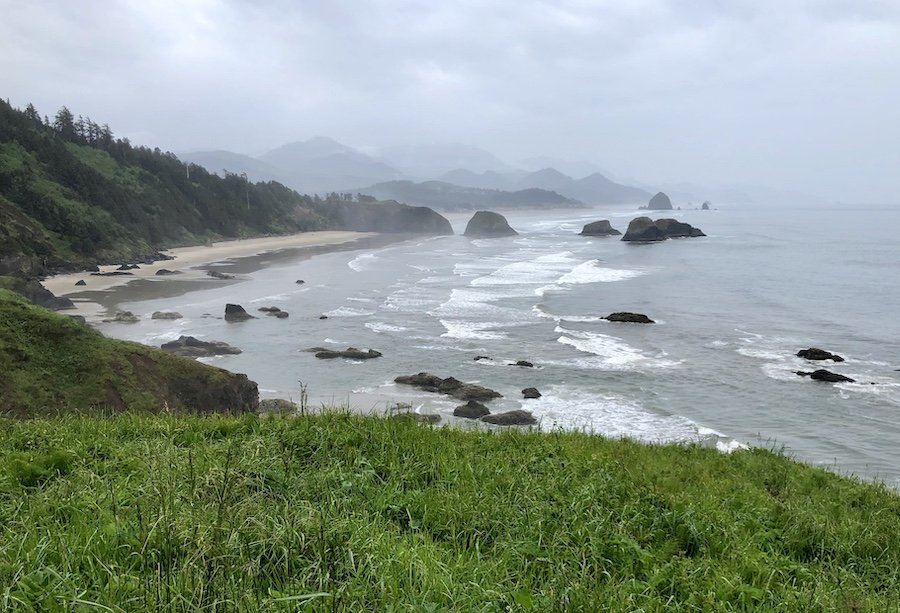 Ecola State Park View of Crescent Beach