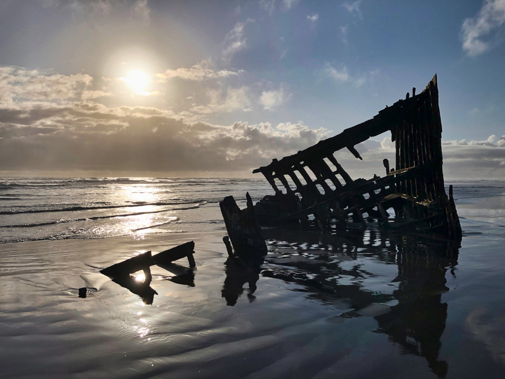 Fort Stevens State Park Peter Iredale Shipwreck