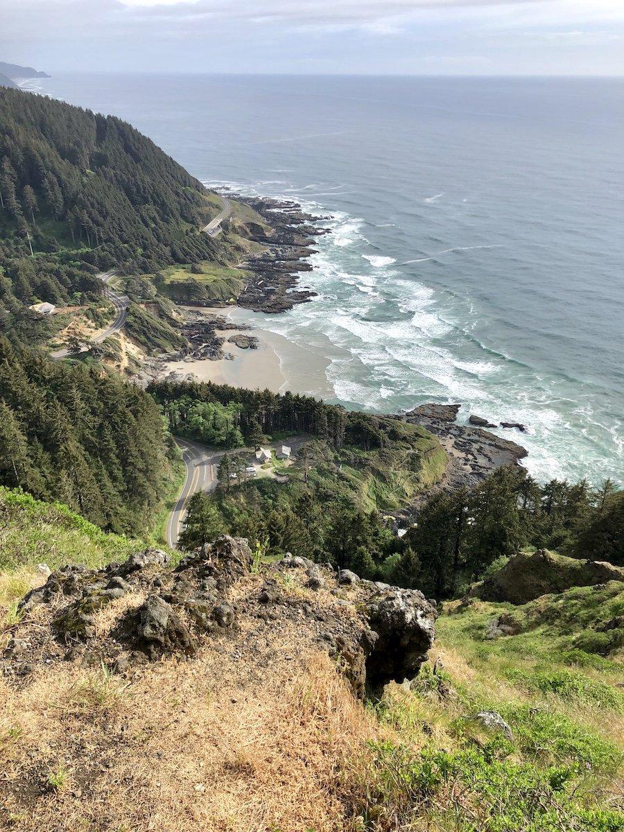 Cape Perpetua Overlook on the Oregon Coast