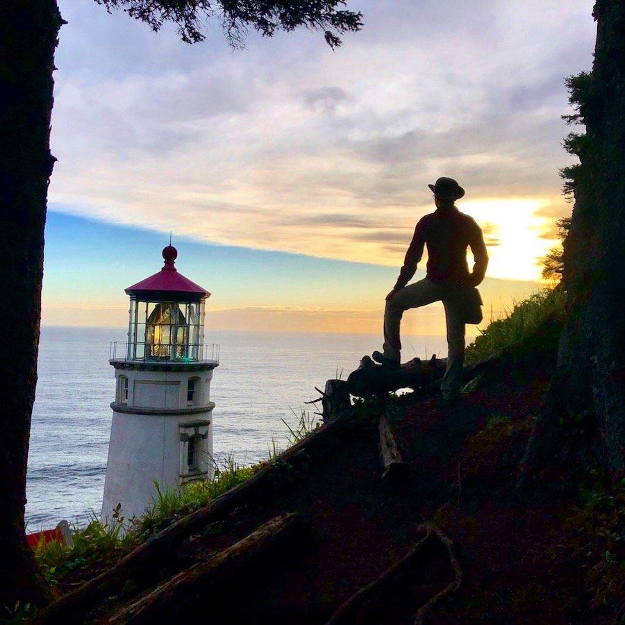 Heceta Head Lighthouse on Oregon Coast