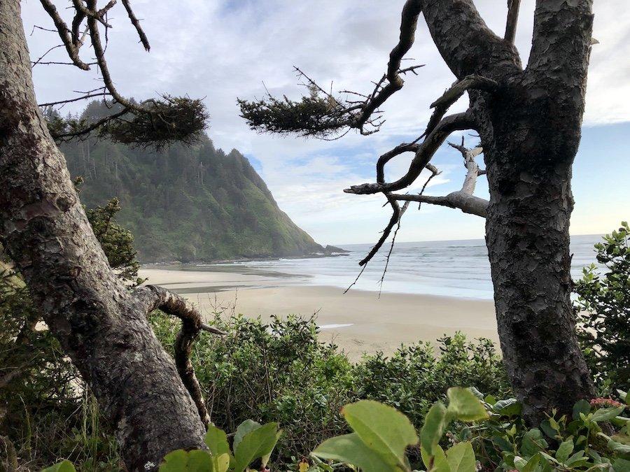Hobbit Beach Trail Beach View