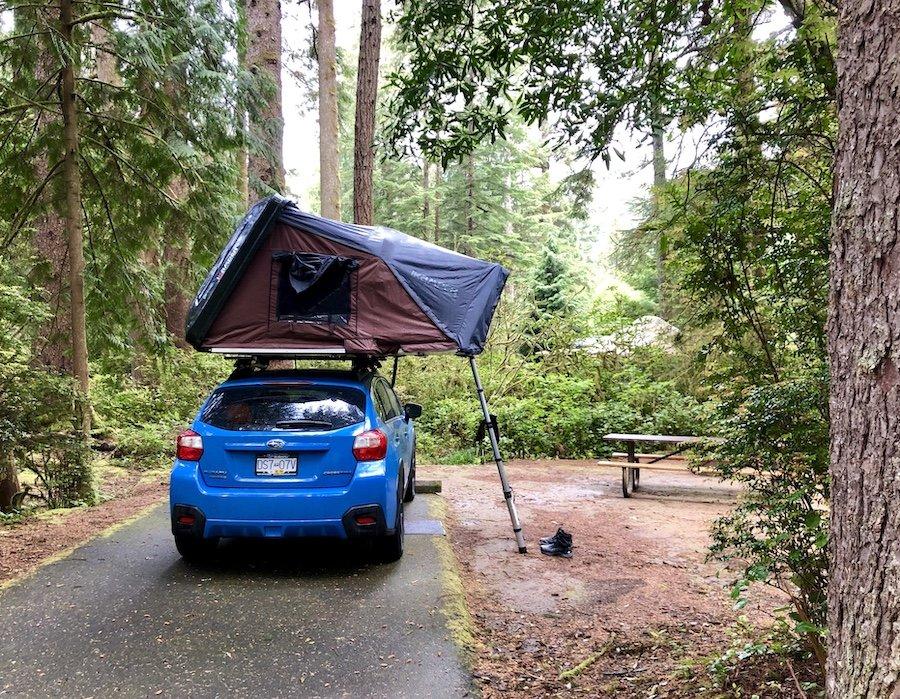 Camping at Jessie Honeyman Memorial State Park