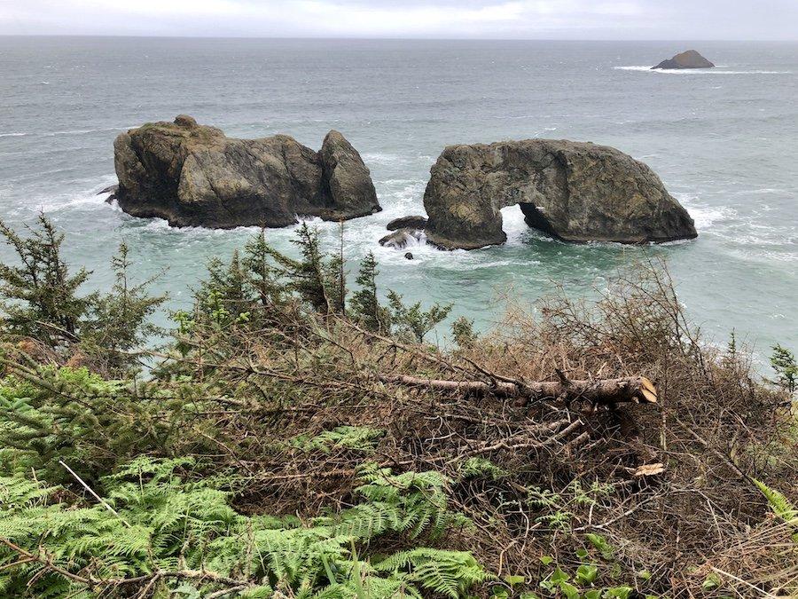 Arch Rock at Samuel Boardman Scenic Corridor Oregon