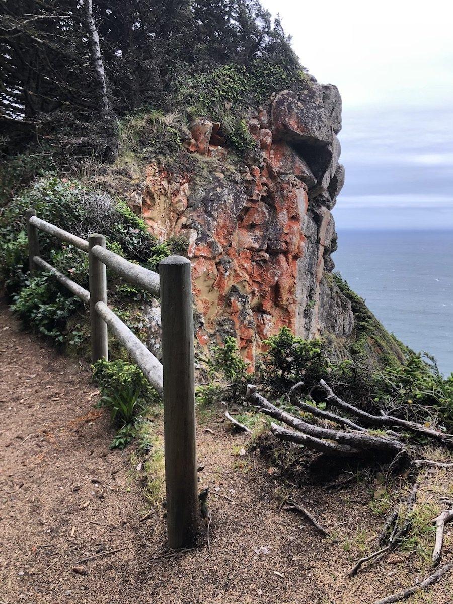Viewpoint on Cape Sebastian Trail, Oregon Coast