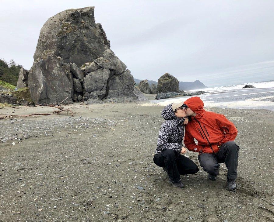 Kissing Rock on the Oregon Coast