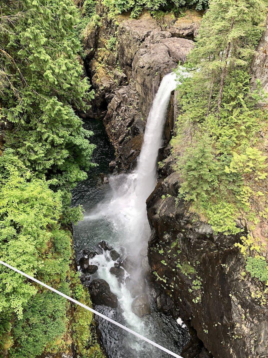 Elk Falls, Elk Falls Provincial Park