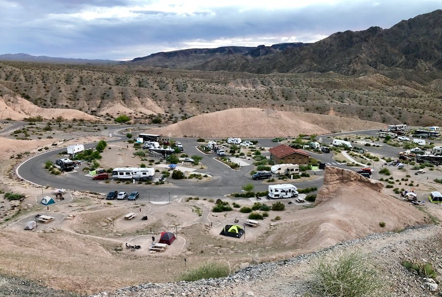 Willow Beach Campground A Desert Camping Experience Near